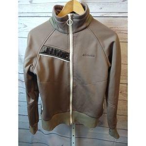 Columbia Sportswear Brown Zipper Jacket
